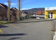 Parkplatz Eingangsbereich Zauberer Zwergen