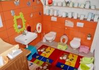 Wickelraum WC Kinder Zauberer Zwergen